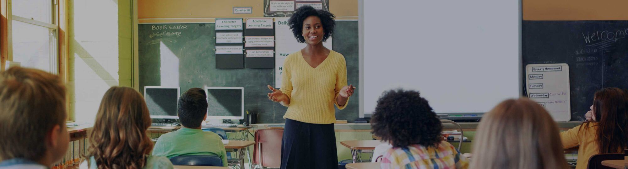 A teacher delivers a sexual health lesson to a classroom of students